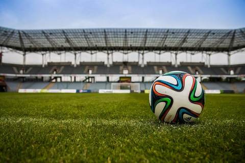 Medium the ball stadion football the pitch 46798
