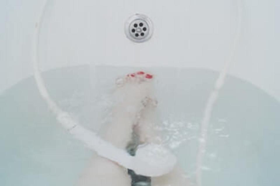 ダイソー温度計をお風呂に