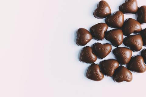 Medium chocolat coeur