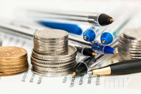Medium coins currency investment insurance
