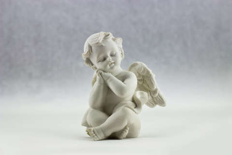 Medium angel art ceramic 52718  1