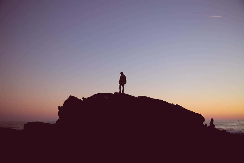ずら方言の山頂