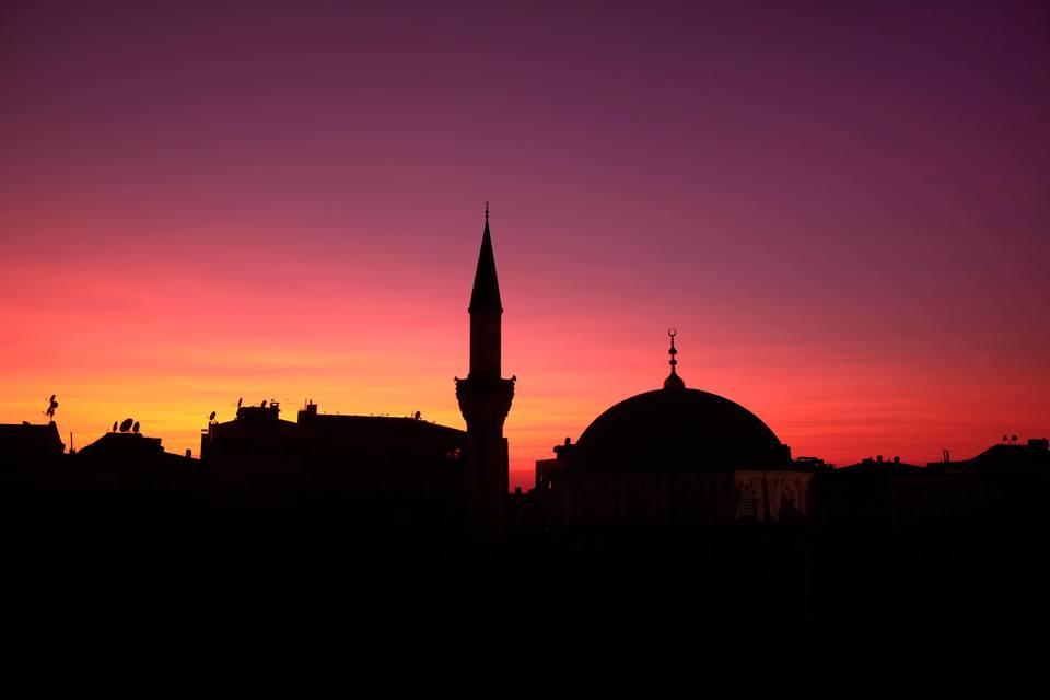 夜明けのトルコ