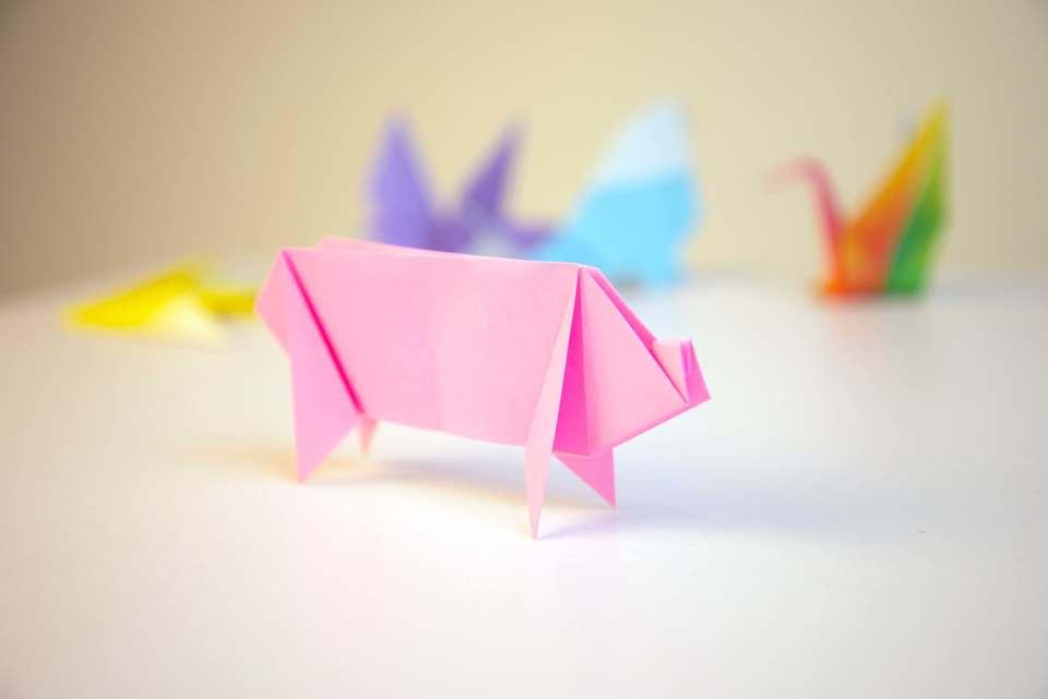 折り紙風船はない動物園