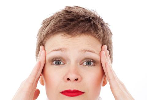Medium female headache migraine 41253