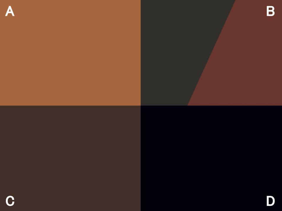 イエベブルベ診断・4種類の地毛の色