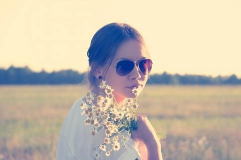 Medium girl flowers