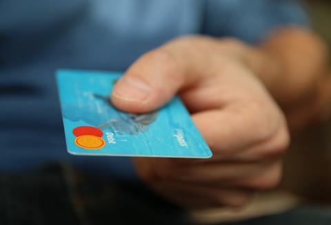 Medium money card business credit card 50987