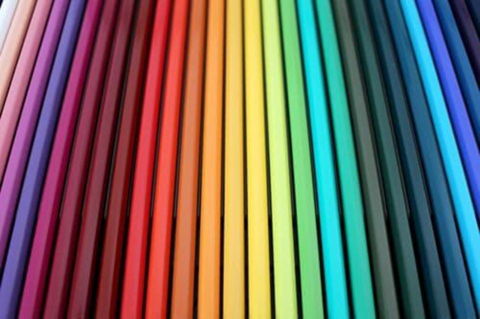 100均色鉛筆のアップ画像