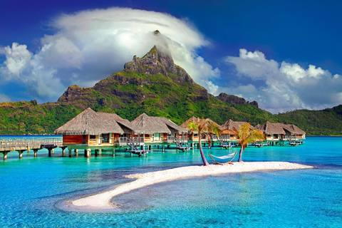 Medium beach bora bora clouds 753626  1