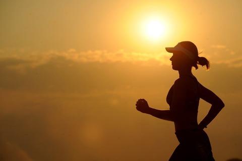 Medium running runner long distance fitness 40751