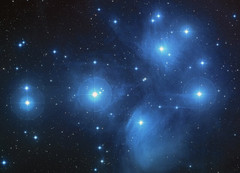 Small the pleiades star cluster star star clusters open sternhaufen 56621 1