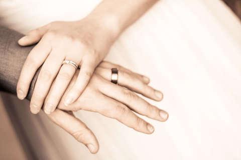 Medium adult bride and groom celebration 325884